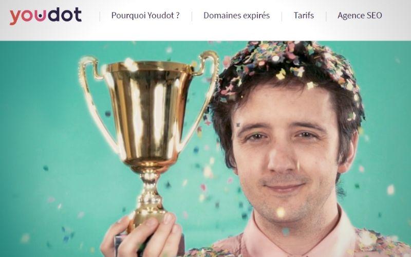 Youdot pour acheter des noms de domaine expirés  - letz communication - Agence web - Luxembourg